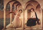 Annunziazione 1437-1446 Fra Angelico